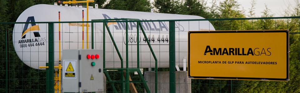 gas envasado para autoelevadores