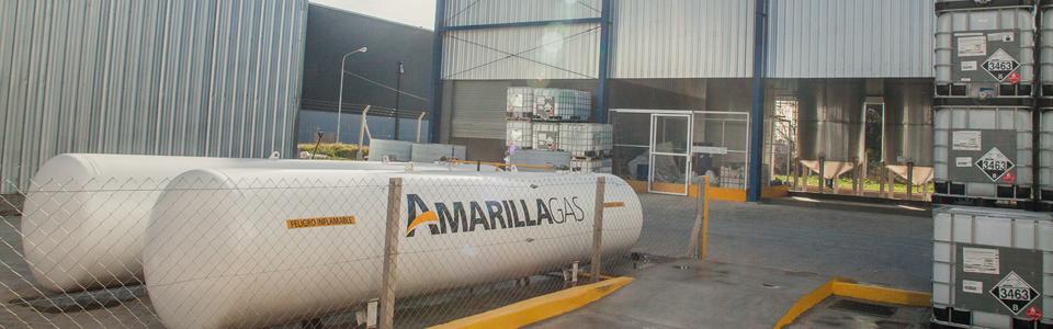 Glp industrial amarilla gas for Estanques de gas licuado